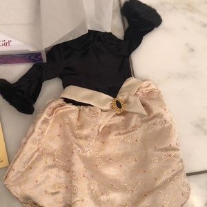 American Girl retired midnight Holly outfit